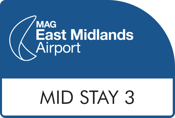 Mid Stay 3 at East Midlands airport